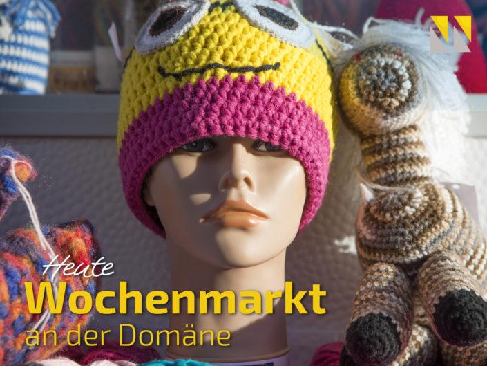 Wochenmarkt an der Domäne - heute!