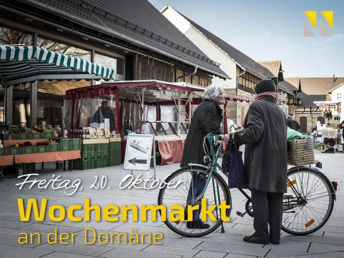 Wochenmarkt an der Domäne