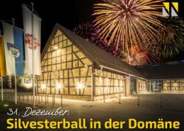 Silvesterball in der Domäne
