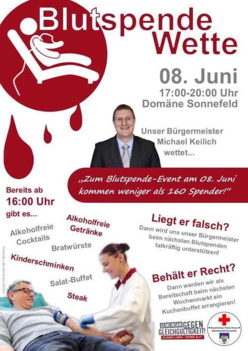 Blutspende im Mai