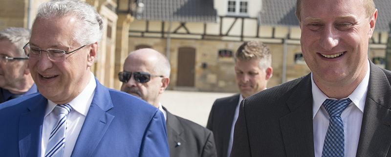 Eröffnung der Domäne mit Innenminister Dr. Joachim Herrmann